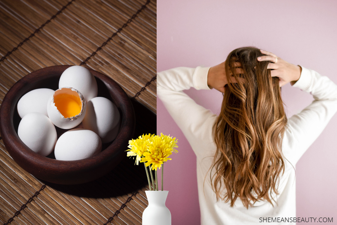 How To Use Egg Yolk For Shiny Hair & Hair Growth