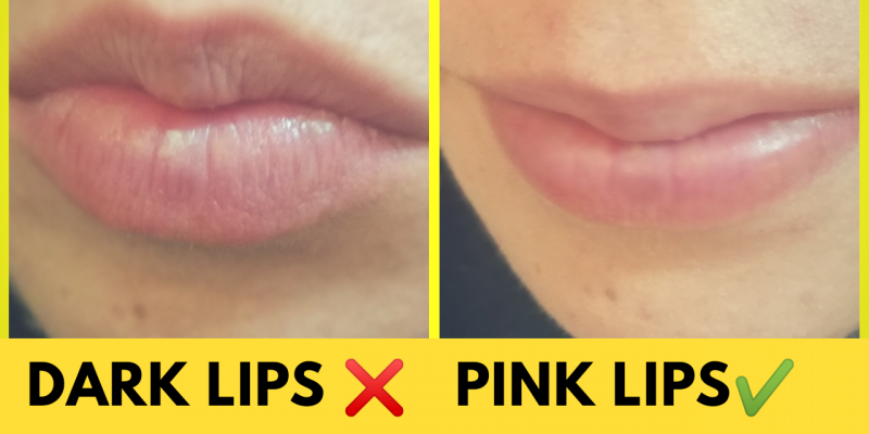 EASY DIY Lip Balm recipe for Pink lips at home