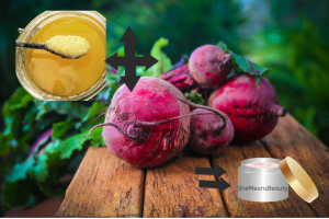 DIY LIP BALM Natural using beetroot juice and ghee
